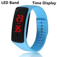 Smart Bracelets Wristbands High Quality Unisex Waterproof LED Silicone Band Smartband Digital watches Time display Sports Wrist Bands For Men Women