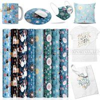 Window Stickers Lucky Goddness 1 Pcs 12*12 IN Sublimation Paper Cricut Joy Suitable For Mouse Pad Christmas Infusible Transfer Ink