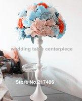 Стиль Высокий Декоративный Цветочный Чаша Топ Candelabra Centerpectes Свадебная вечеринка Украшение