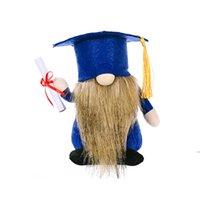Безликая кукла выпускной сезон партии поставляет гномы подарок гнома плюшевые гнома дома украшения украшения для студентов hwe6147