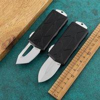 NUOVO Coltello da 5,6 pollici Exocet Automatic Knife Qualità di fascia alta Lega di alluminio CNC Lavaggio Pietra D2 Blade Portafoglio Coltello