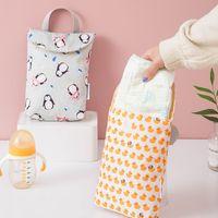 Multifunctionele baby luier tassen herbruikbare mode waterdichte luier organizer draagbare grote capaciteit Mummy tas groothandel 1011 y2