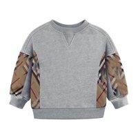 Meninos meninos meninas manta suéteres primavera cai crianças manga longa pulôver crianças algodão casual camisola criança camisola