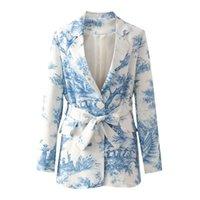 Blsqr chic Casual Femmes Blaser Vestes Femme Vêtements De Vêtements De Vêtements Élégantes Manteau Feminino Jacket 210430