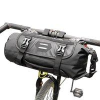 Cycling Bags Bicycle Basket Bike Front Tube Bag Waterproof Handlebar Pack Frame Pannier Accessories