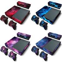 Microsoft Xbox One Konsol Skins Vinil Sticker Koruyucu Wrap Denetleyicileri Kinect Kapak 210425