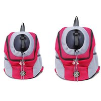 St Out Double Shoulder Portable Travel Backpack Outdoor Pet Dog Carrier Bag Front Mesh Head Car Seat Covers