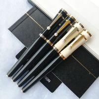 Mesdames Special Special Grebbo Roller Pen Stylo Limited Édition fluide Clip de luxe avec Papeterie perle mignonne + recharges cadeaux + pochette en peluche