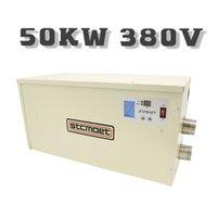 Potencia portátil Ahorro de energía Piscina eléctrica Calentador de agua 36kw 40kw 45kw 55kw 60kw Equipo Accesorios