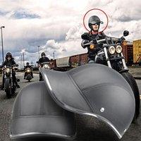 Motorcycle Helmets 2021 Baseball Cap Style Half Helmet Safety Hard Hat Face Vintage Summer Visor Scooter