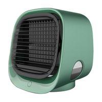 Вентилятор воздушного охладителя Мини-настольный кондиционер с ночным освещением Мини USB Водяной охлаждающий вентилятор Увлажнитель очистки EWF7939