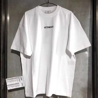 T-shirt Comer T-shirt Hommes Wome Short Mouw Big Day Hip Hop Losse Casual Borumen Vetements Tees Blanc T-shirts blancs