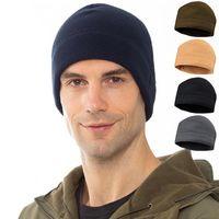 Inverno Fleece BALACLAVA Caps For Men Tactical Hat Sport all'aperto Caccia in bicicletta Escursionismo Cappelli da sci
