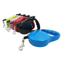Dog Collars & Leashes Pet Supplies Collar Leash Automatic Retractable Harness Puppy Rope Walking Cat Traction Small Medium