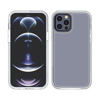 Cell Phone Cases Suitable For iPhone 12 2.5mm transparent TPU PC anti-scratch shockproof design
