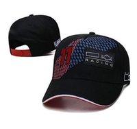 Chapeau de course F1 NOUVEL VERSTAppen Logo brodé complet Chapeau de soleil, casquette de baseball