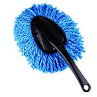 Car Sponge 1PCS Special Wax Tow Cleaning Microfiber Dust Brush Room Dual Purpose Broom Supplies