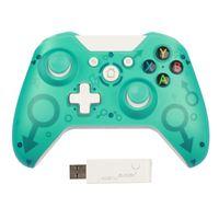 Top Calidad 2.4G Controlador inalámbrico Gamepad Precise thumb pulg Maystick para Xbox One / PS3 / PC 20x DHL
