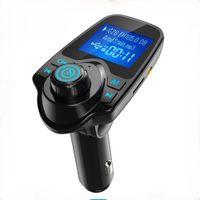 T11 LCD بلوتوث اليدين سيارة السيارات كيت A2DP 5 فولت 2.1a شاحن usb fm الارسال اللاسلكية fm المغير الصوت مشغل الموسيقى مع حزمة