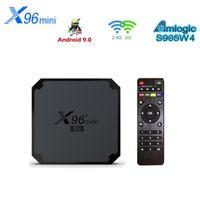 X96 Mini 5G Amlogic S905W4 Android 9.0 Tv Box 4K 1G 8G 2G 16G Dual Wifi set top box