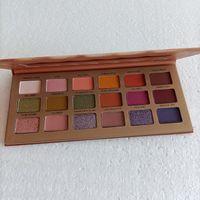 12pcs Sweet Peach Makep Shadow Ombre au chocolat Palette Or Palette Bauche Blanc Bar 18 couleurs Pêches Cosmétiques