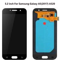 Para Samsung Galaxy A5 Touch Paneles usados para reparar la pantalla del teléfono Múltiples opciones de calidad A520 Digitalizer Reemplazo de la pantalla LCD