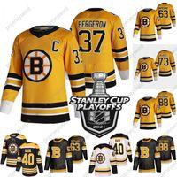 2021 ستانلي كأس Playoffs Patrice Bergeron Boston Bruins جيرسي تايلور هول تشارلي ماكافوي ديفيد باسترنك براد مارشاند توكا راسك ديفيد كراجسي تشارلي كويل