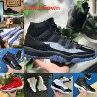 Vender 2021 jubileu pantone criado 11 11s sapatos de basquete 25º aniversário espaço jam gama azul easter concord 45 ganhar como low columbia branco tênis vermelho x1