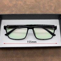 أزياء النظارات الشمسية إطارات evove النظارات المتضخم إطار الرجال النساء نظارات شفافة الذكور مستطيل TR90 كبير النظارات حافة كبيرة للتحكيم