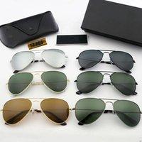 أفضل بيع أزياء رجالي الرجعية طيار نظارات شمسية نظارات شمسية الضفدع مرآة نظارات محرك أقراص القيادة نظارات للرجال والنساء etzhzeh tdzh