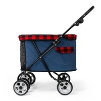 Pet Stroller Puppy Out Small Cat Foldable Car Lightweight Dog Walking Supplies Seat Covers