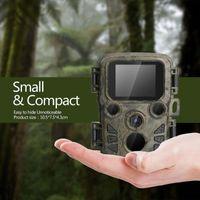 Nachtsichtjagd-Kamera 12MP 1080p Wildlife-Kamera-Scout-Guard-Infrarot-IR-LEDs-Reichweite bis zu 65 Fuß Foto-Fallen Mini 300