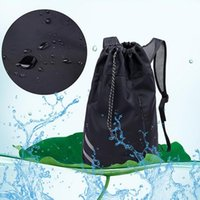 Backpack Men Basketball School Bags For Balls Soccer Drawstring Mash Fitness Bucket Bag Outdoor Sports
