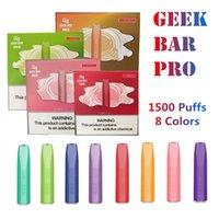 Geek Bar Pro Disposable E Cigarettes Device 1500 Puffs 850mAh Battery 4.5 ML Pre-Filled Vape Pen Kits