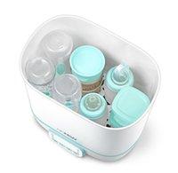 다기능 아기 제품 건조기 소독 상자가있는 대용량 병 증기 살균기