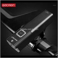 أضواء الدراجة Gaciron V10500800Lumen LED مصباح دراجة ضوء USB قابلة للشحن IPX6 للماء للمقاولات الجبهة المقود الدراجات الملحقات 1 2F 8DW6A