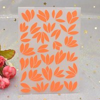 Flowers Pattern 3D Cartelle in goffratura per carta di carta scrapbooking fai da te che fa strumenti di stencil modello di plastica artigianale