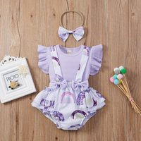 Clothing Sets Born Kids Baby Girls 3pcs Floral Printed Clothes Knitted T Shirt Tops Suspenders Shorts Infant Toddler Set