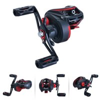 Fishing Reel High Speed 8.1:1 Gear Ratio Spinning Baitcasting 19+1 Ball Bearings Carp Baitcaster Tackle Reels