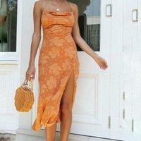 Yaz Zarif Lace Up Elbise kadın Backless Kolsuz Maxi Boho Beach Tatil Uzun Vestidos 2021 Giyim Mayo