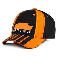 2021 Спорт F1 Гоночная кепка Мужская шляпа Рыбалка на открытом воздухе Мода Мода Линия бейсболка Лонг-Визуализация Breim Visor Spring Back Sun Hat