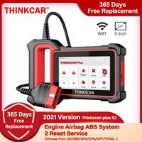 Thinkcar Thinkscan Plus S2 OBD2 سيارة ماسحة تشخيص أدوات تشخيص ABS SRS محرك التشخيص النفط DPF إعادة تعيين المهنية واي فاي التحديث المجاني