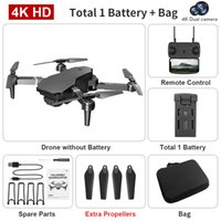 E68 Drone with 4K Camera, Adults& Kid Remote Control Plane Toy, Beginer Mini Quadcopter, Cool Things, Christmas Gift, WIFI FPV, S01