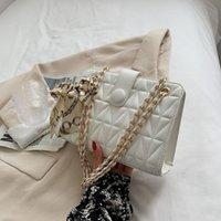 Shoulder Bags Design Summer 2021 Women's Fashion Leather Chain Messenger Bag Luxury Single For Girls Ladies Hand
