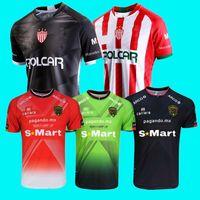 FC Juárez Meksika Kulübü Necaxa Futbol Formaları Gonzale Liga MX Ev Beyaz Uzakta Siyah Gri Futbol Gömlek Kısa Kollu Camisetas De Fútbol Üniforma 4XL