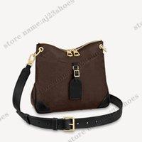 Odeon PM 디자이너 가방 갈색 검은 세련된 기능성 어깨 가방 지갑 지갑 다기능 Crossbody M45353