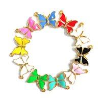 30pcs Charms farfalla per le donne Accessori per gioielli fai da te BU00010-BU0013