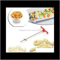 Other Knife Knives Accessories Kitchen, Dining Bar Home & Garden Drop Delivery 2021 Rotating Hine Manual Magic Roller Radish Potato Spiral Cu
