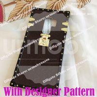 L célèbre marque de marque Fashion Coffre Téléphone Cuir pour Samsung Galaxy S21 Ultra 8 9 10 Plus Remarque S20 Plus