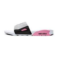 90 Slide Version Kissen Sommerschieber Herren Womens Sandalen Strand Hausschuhe Damen Flip Flops Schwarz Freizeit Slider Chaussures Mode Rasterschuhe 36-45